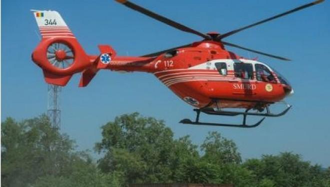 Un elicopter SMURD Iaşi s-a prabuşit în Republica Moldova, toţi membrii echipajului au murit UPDATE