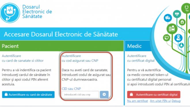 Dosarul electronic de sănătate (DES), sau medicina fără chiloți pe ea