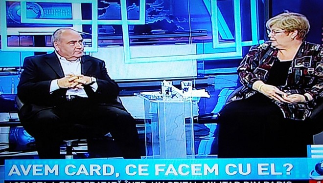 Dr Rodica Tanasescu si director CNAS Ciurchea: INTREBARI SI CATEVA RASPUNSURI DESPRE CARDUL DE SANATATE