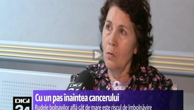 Pentru prima data in Romania, o analiza privind riscul transmiterii cancerului in familie a iesit pozitivă