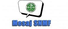SNMF: Recomandari pentru Contractul 2016.