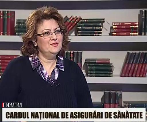 Sandra Alexiu si cardul de sanatate