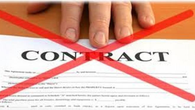 Notificari de intrerupere a contractelor de colaborare cu LABORATOARELE sau cu orice alt furnizor in contract cu CJAS