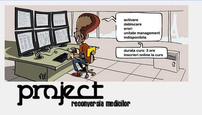 Curs online pentru medici: Project RECONVERSIA PROFESIONALA A MEDICILOR