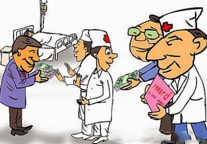 """LEGE: """" Plicul medicului """" se va putea oferi spitalului cu titlu de donatie sau plata !"""