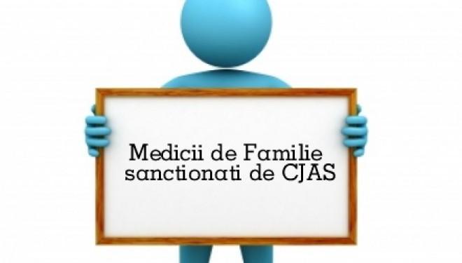 Medicii de familie au fost controlati si sancționați de CJAS.