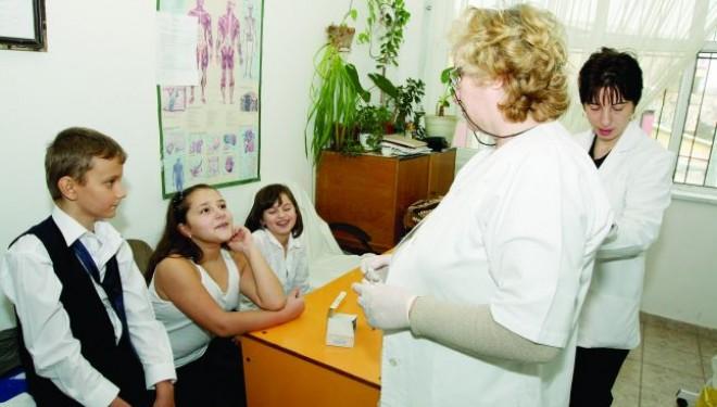 Contracte cu medicii de familie pentru asigurarea asistentei medicale in scoli