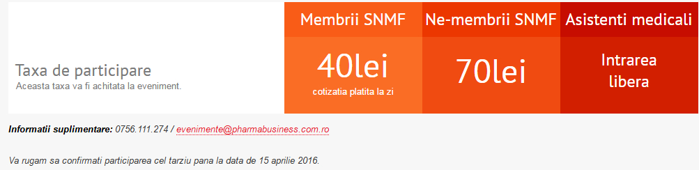 medical forum 2016 pret