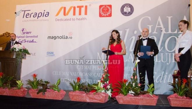 Cei mai buni medici clujeni au fost premiati in cadrul evenimentului Gala Elitelor Medicale Clujene.