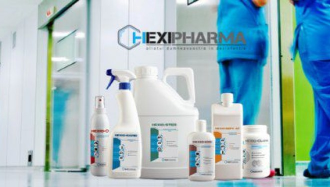 CONCLUZIE: Dezinfectanții Hexi Pharma au fost diluați în limite legale. ( ? !! )