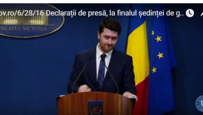 Sanatatea este ultima problema prezentata in conferinta de presa a guvernului Romaniei si se refera la… controale ( ! ).