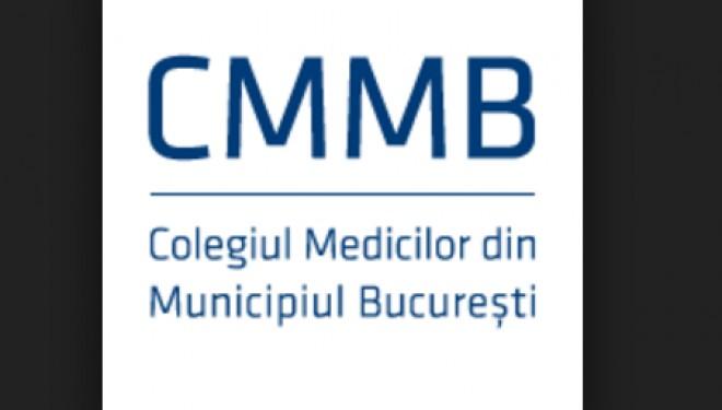 Colegiul Medicilor Bucureşti solicită program normal de lucru pentru medicii din spitale