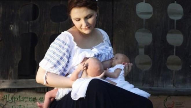 Saptamana Internationala a Alaptarii: evenimente gratuite dedicate gravidelor si mamelor din Romania, intre 1 si 7 august