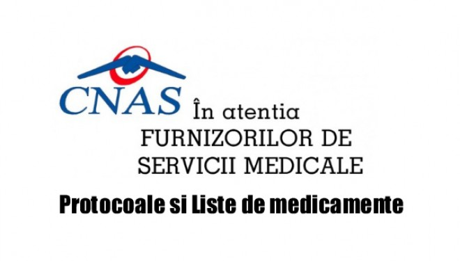 PROTOCOALE medicamente. In atentia medicilor prescriptori. April 19. 2017