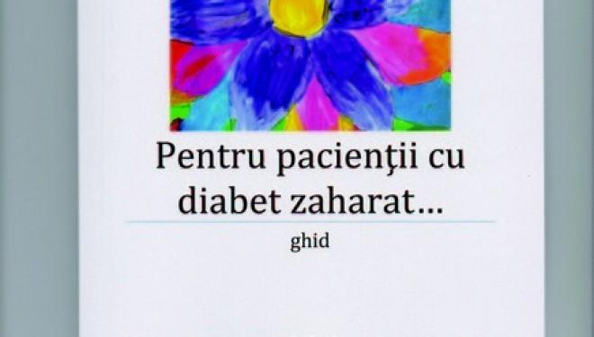 Ghid pentru pacienții cu diabet zaharat semnate de doctorul sucevean Claudiu Cobuz.