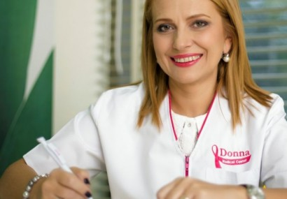 "Dr. Elena Claudia Teodorescu, medic primar imagistica medicala ""Un cancer mamar descoperit in stadiu incipient are sanse de vindecare de peste 90%"