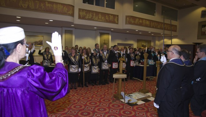 """Dr. Anca Nicolescu  """"Masonii de astăzi, parte activă la construcția și dezvoltarea unei Europe cu adevărat Unite"""""""