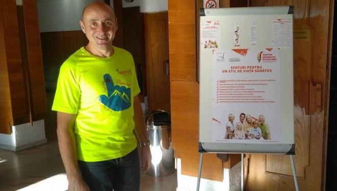 """Asociaţia Medicilor de Familie Mureş ( AMFMS) a lansat, vineri, campania de promovare a unui stil de viaţă sănătos """"Suntem generaţia în mişcare""""."""