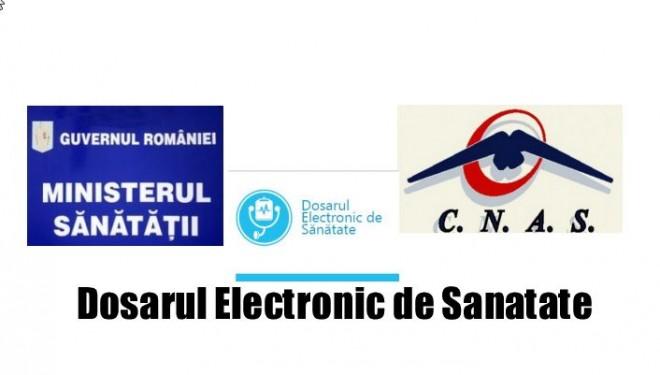 Din partea MS si CNAS Dosarul Electronic de Sanatate se vede foarte bine…