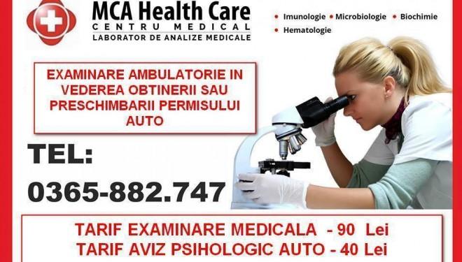 Consultatii ambulatorii de specialitate pentru PSIHIATRIE-dr RACZ Alpar si MEDICINA INTERNA- dr HAZAPARU Andreea.