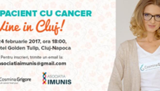 Seminarul Noul Pacient cu Cancer in Cluj Napoca: pacientii vorbesc despre cum a adus cancerul echilibrul in viata lor