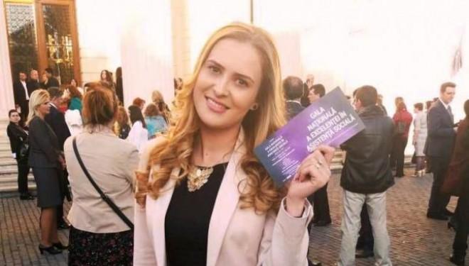 Târgujianca Loredana Niculete, premiată la Gala Naţională a Excelenţei în Asistenţă Socială