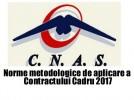 Norme metodologice de aplicare a Contractului cadru 2017
