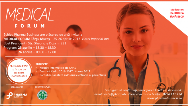 Medical Forum Tg Mures 2017