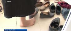 Fălești: În Centrul Medicilor de Familie din Glinjeni oamenii sunt rugați să se descalțe la intrare