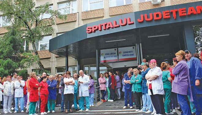 Colegiul Medicilor este solidar cu colegii de la Spitalul Judeţean