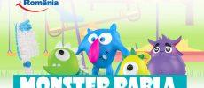 "Programul ""Monster Rabla"" – pentru periuta de dinti"" ajunge in sase orase din tara, incepand cu 17 iunie"