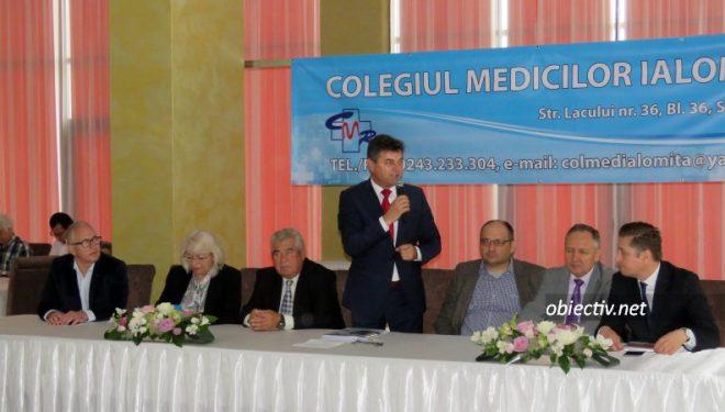 """În perioada 25 – 28 mai, la Amara, a avut loc a VI-a ediție a Conferinței Regionale """"Zile medicale ialomițene"""", organizată de Colegiul Medicilor Ialomița."""