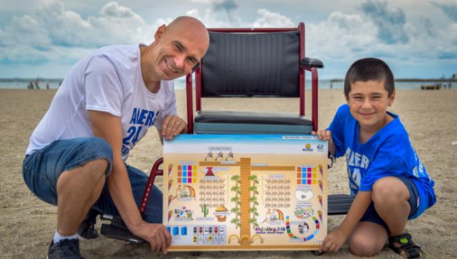 Prima plajă pentru persoanele cu dizabilităţi din Europa, tot mai aproape de realitate
