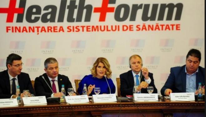 Health Forum — Finanțarea sistemului de sănătate 2018