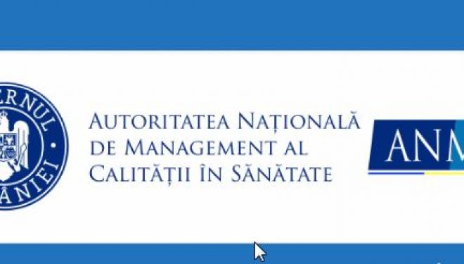 Comunicat CMR – ANMCS AUTORITATEA NATIONALA DE MANAGEMENT AL CALITATII IN SANATATE