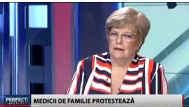 Medicii de familie au inceput protestele. Dr Rodica Tanasescu ( TVR )
