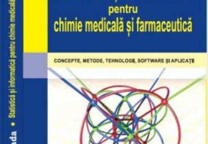 """Apariție editorială """"Statistică și Informatică pentru chimie medicală și farmaceutică"""""""