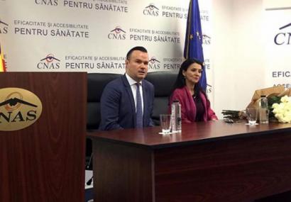 COMUNICAT – Ministrul Sănătăţii, prezent la şedinţa Consiliului de Administraţie al CNAS