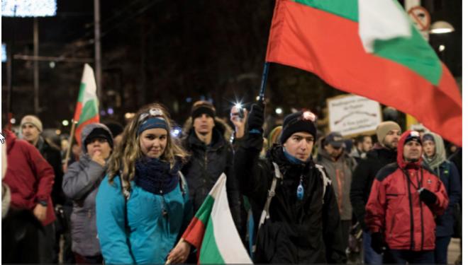 Mii de bulgari, în stradă, în semn de susținere a unui medic care a ucis un hoț de etnie romă