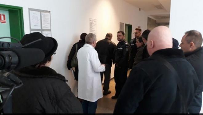 Percheziţii la Spitalul Judeţean Baia Mare