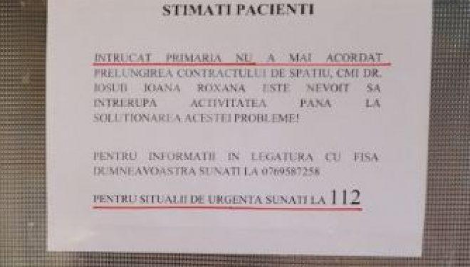Cum au rămas locuitorii comunei Bălțești fără serviciile medicului de familie