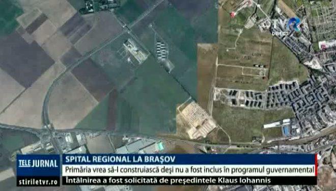 Spital regional la Braşov. Primăria vrea să-l construiască, deși nu a fost inclus în programul guvernamental