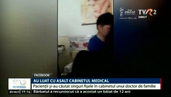 Pacienții au luat cu asalt cabinetul și și-au căutat singuri fișele. Spun că medicul de familie e de negăsit
