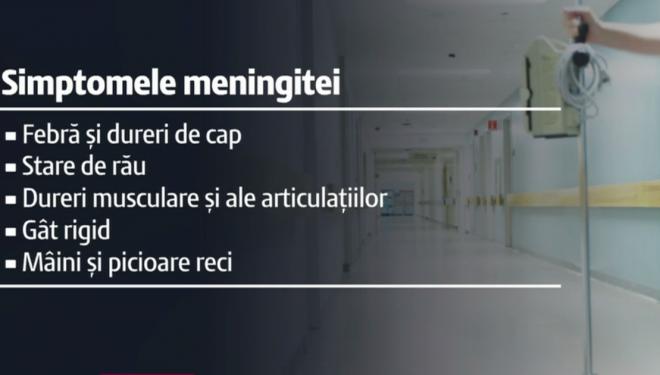 Alertă la Vaslui. 60 de oameni primesc tratament preventiv împotriva meningitei