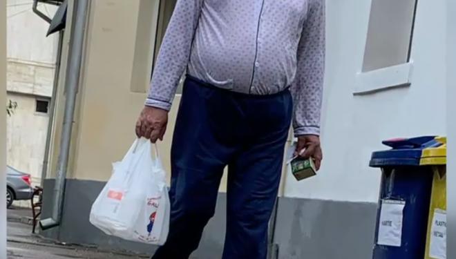 Situație revoltătoare. Un bătrân, operat abia după ce rudele au cumpărat ser fiziologic