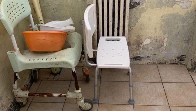 Imagini deplorabile din Secţia de Pshiatrie din Constanţa. Spital: Vrem să renovăm, dar nu avem unde muta pacienţii