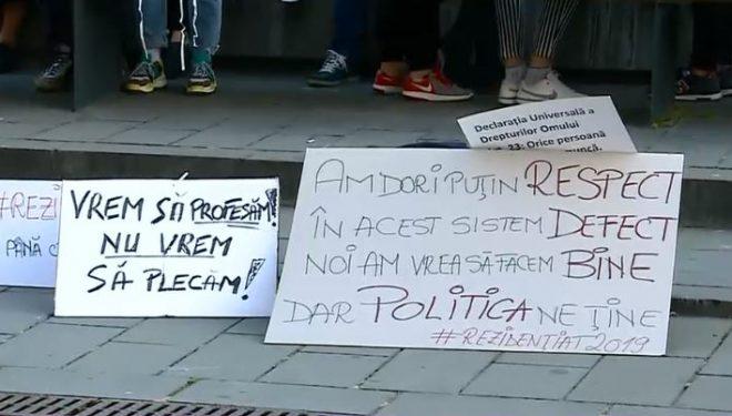 Protest al viitorilor medici. Examenul de rezidențiat, o mare necunoscută în acest moment