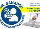 SANADOR lansează serviciul Dr. SANADOR – CONSULTAȚII MEDICALE ONLINE
