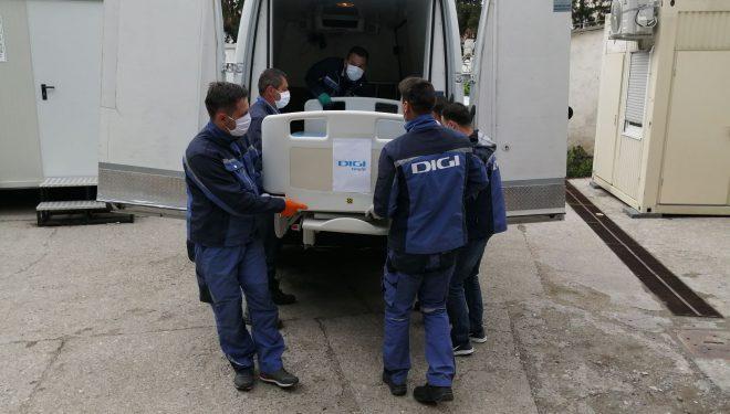 Grupul Digi donează aparatură pentru secțiile de terapie intensivă ale spitalelor