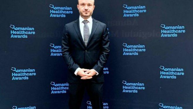 Diplomă de excelenţă la Romanian Healthcare Awards 2020, pentru consilierea medicală gratuită a 1.000 de persoane, prin telemedicină, în pandemie
